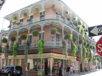 Maison typique Nouvelle Orleans