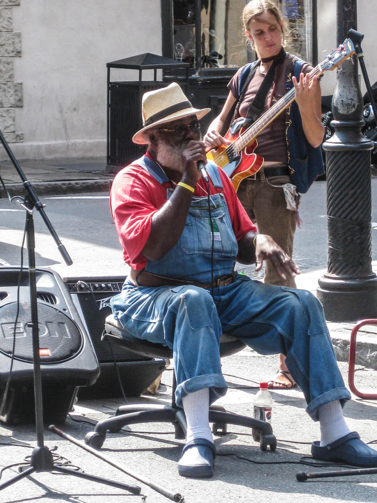 Chanteur Nouvelle Orleans